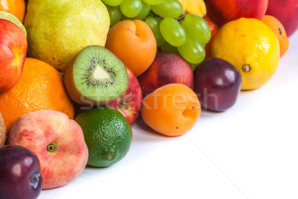 Huge group of fresh fruits Stock photo © bloodua