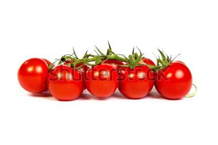 Juicy organic Cherry tomatoes isolated Stock photo © bloodua