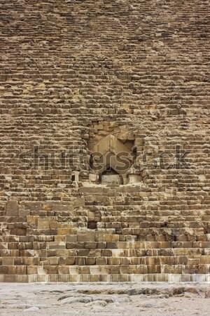 Stock fotó: Nagyszerű · piramis · Egyiptom · sír · nyár · Afrika