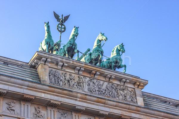 Brandenburg Gate in Berlin - Germany Stock photo © bloodua