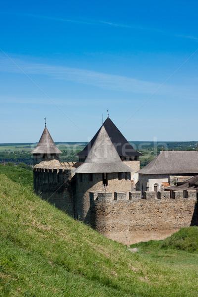 Medieval castle Stock photo © bloodua