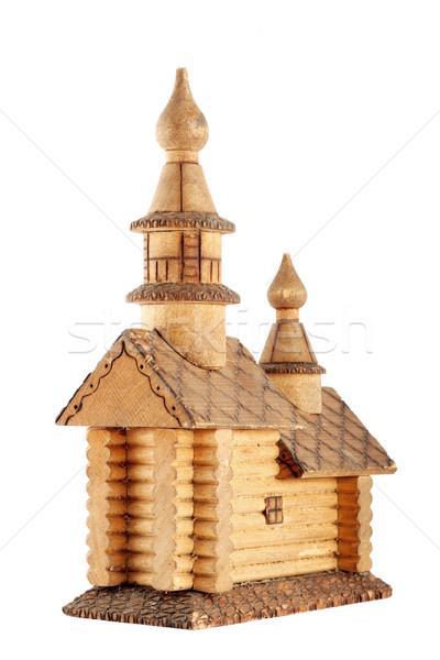 Stock photo: house, church
