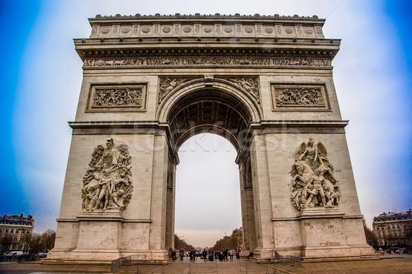 Arc de Triomphe (Paris, France). Stock photo © bloodua