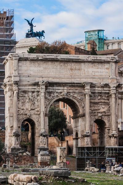 Roman ruins in Rome. Stock photo © bloodua