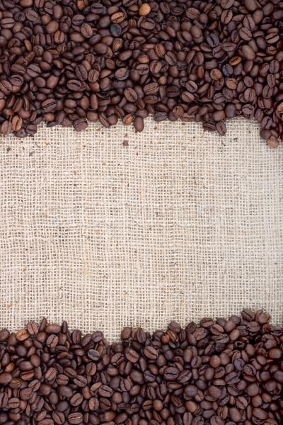 Marrom grãos de café tiro estúdio chocolate Foto stock © bloodua