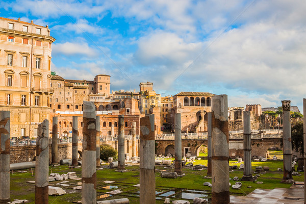 Roman ruins in Rome. Stock photo © bloodua