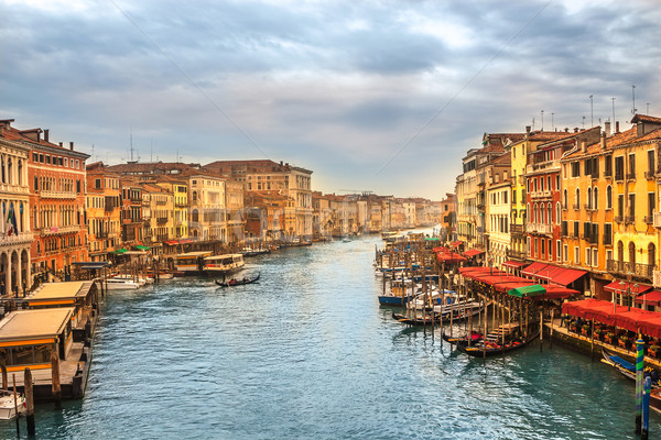 Grand Canal in Venice, Italy Stock photo © bloodua