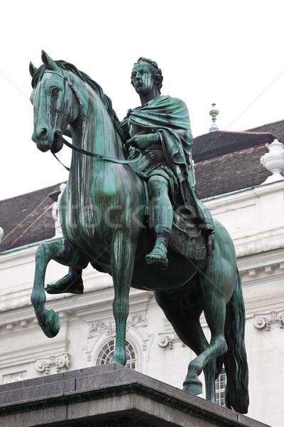 Statue of Josef, Vienna, Austria. Stock photo © bloodua
