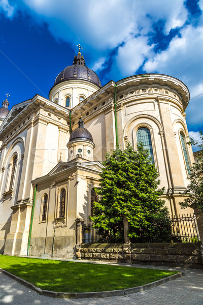 Church of transfiguration, Lviv Stock photo © bloodua