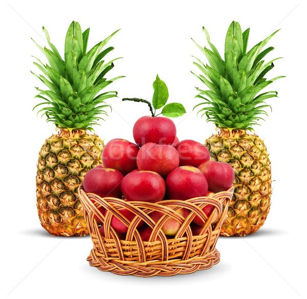 Stock fotó: Színes · egészséges · friss · gyümölcs · lövés · stúdió · étel