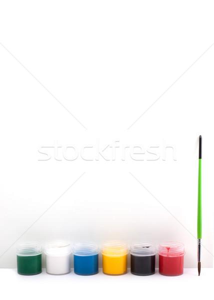 Paints Stock photo © bloodua