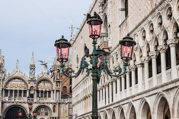 St. Marks Cathedral and square in Venice, Italy Stock photo © bloodua