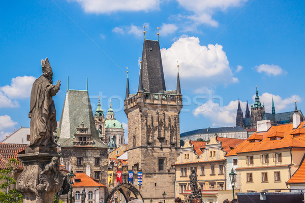 Charles bridge in Prague Stock photo © bloodua