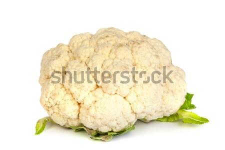 Karfiol izolált fehér friss étel természet Stock fotó © bloodua