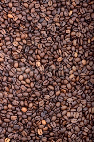 Grão de café aromático marrom chocolate fundo Foto stock © bloodua
