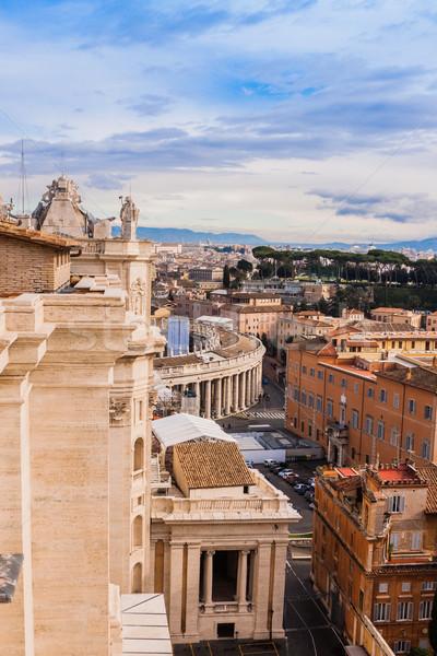 ローマ イタリア 広場 バチカン 有名な ストックフォト © bloodua