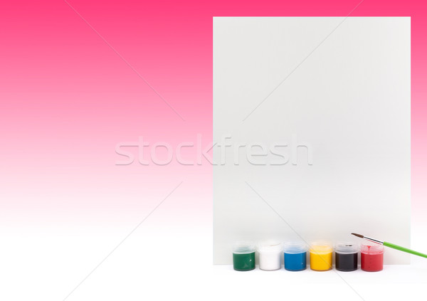 Paints Stock photo © bloodua