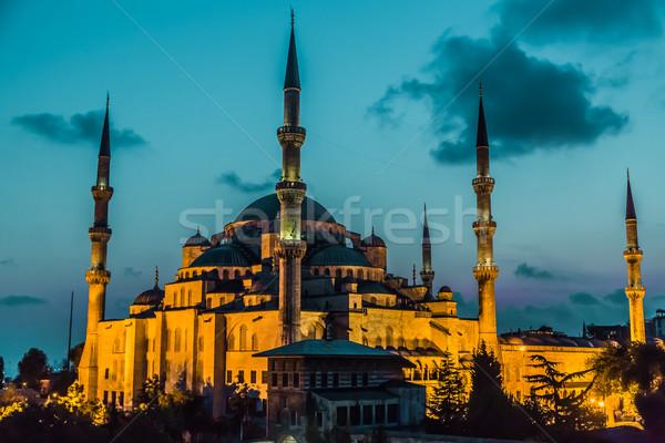 The Blue Mosque, Istanbul, Turkey Stock photo © bloodua