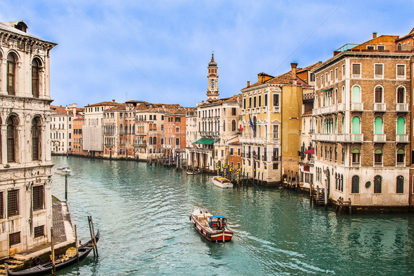 Canal Venise Italie belle eau rue Photo stock © bloodua