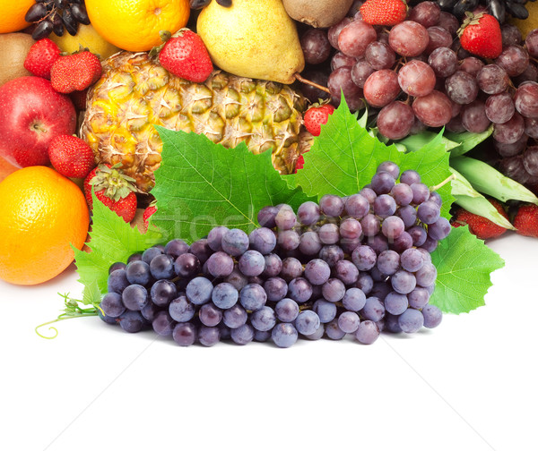 Colorful healthy fresh fruit. Shot in a studio Stock photo © bloodua