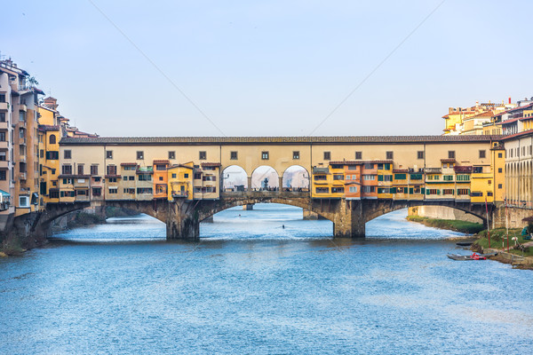 Bridge Ponte Vecchio in Florence, Italy Stock photo © bloodua