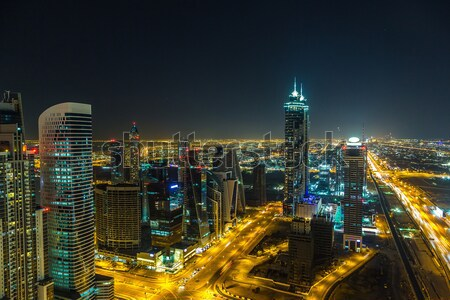Dubai centro Emirati Arabi Uniti architettura 13 moderno Foto d'archivio © bloodua