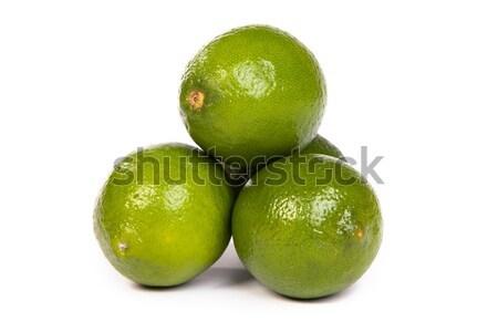 Stock fotó: Csoport · egész · egy · fél · citrus · fehér