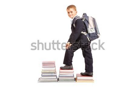 образование успех графа Снова в школу успешный школьник Сток-фото © bloodua