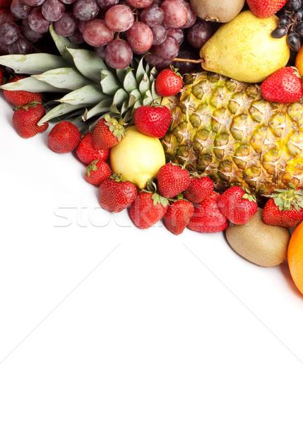 Fruits frais coloré saine coup studio alimentaire Photo stock © bloodua