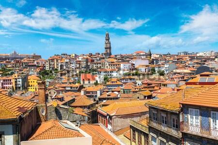 Włochy Rzym panoramę panorama panoramiczny widoku Zdjęcia stock © bloodua