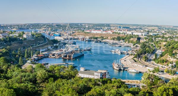 In the port of Sevastopol Stock photo © bloodua