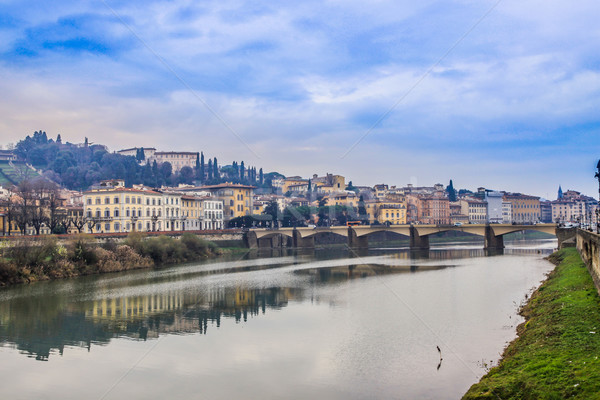 Florence cityscape, Italy Stock photo © bloodua