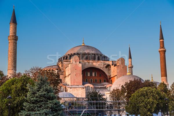 Stock fotó: Híres · Isztambul · Törökország · gyönyörű · Szófia · egy
