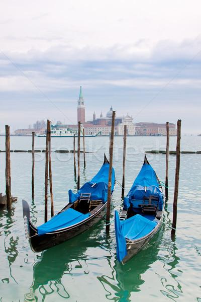 Csatorna Velence Olaszország gyönyörű víz utca Stock fotó © bloodua