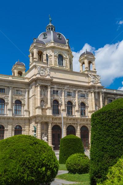 Museum natuurlijke geschiedenis Wenen Oostenrijk Stockfoto © bloodua