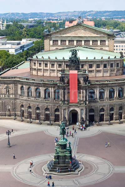 Panorama of Dresden,  Semper Opera House, Stock photo © bloodua