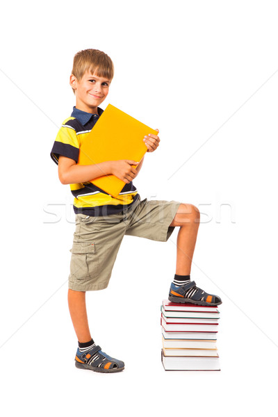 Education success graph. Back to school Stock photo © bloodua