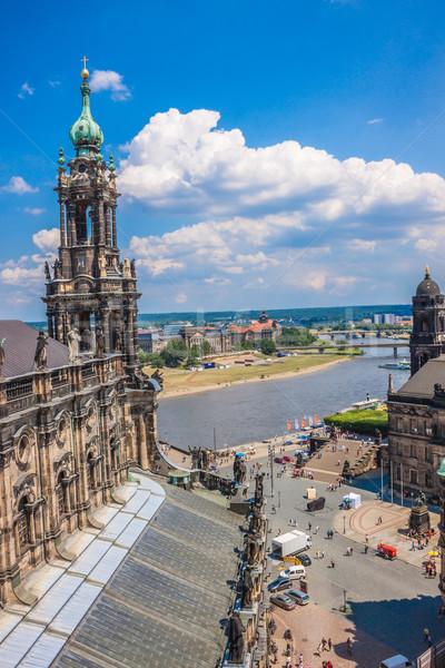 panorama of Dresden, Germany Stock photo © bloodua