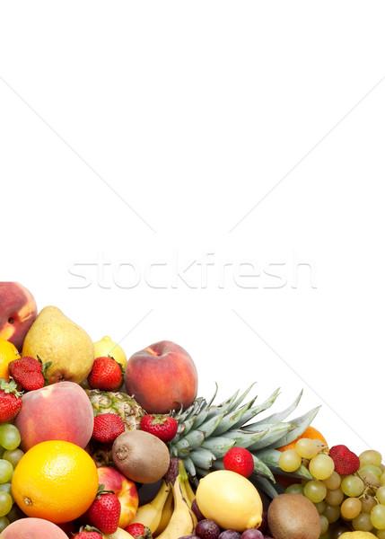 свежие фрукты красочный здорового выстрел студию продовольствие Сток-фото © bloodua
