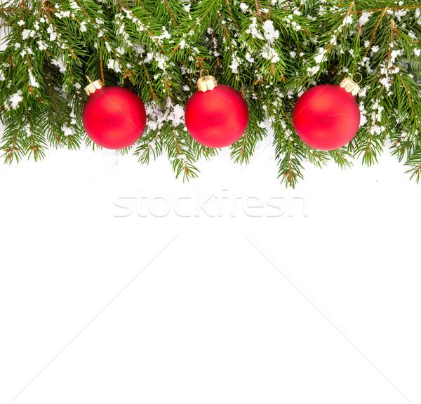 Christmas framework Stock photo © bloodua