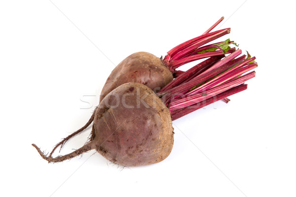 Fresh red beet isolated on  white Stock photo © bloodua