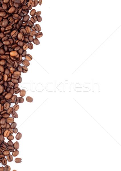 Brown roasted coffee beans Stock photo © bloodua
