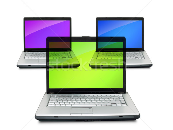 Laptops Stock photo © bloodua