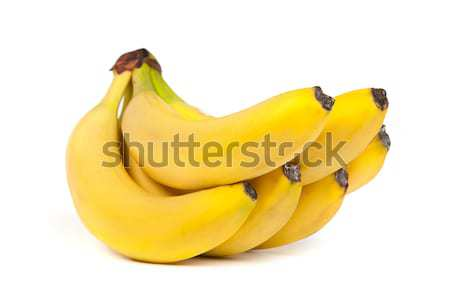 A bunch of bananas isolated Stock photo © bloodua