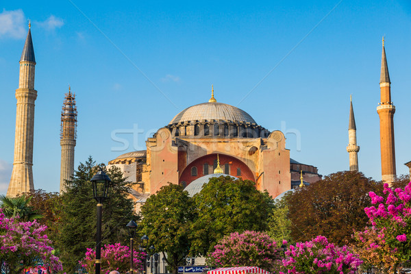 Hagia Sophia, the monument most famous of Istanbul - Turkey Stock photo © bloodua