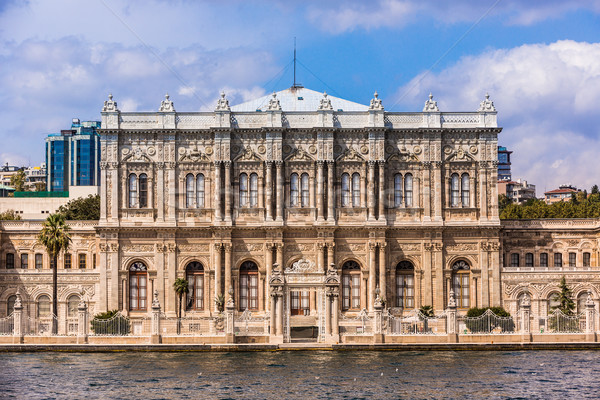 Dolmabahce palace near Bosphorus in Istanbul Stock photo © bloodua