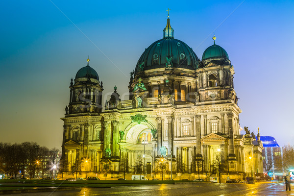 Berliner Dom, is the colloquial name for the Supreme Parish Stock photo © bloodua
