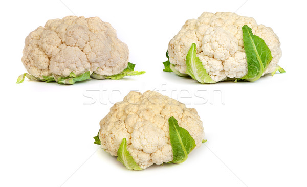 set of Cauliflower isolated on white Stock photo © bloodua
