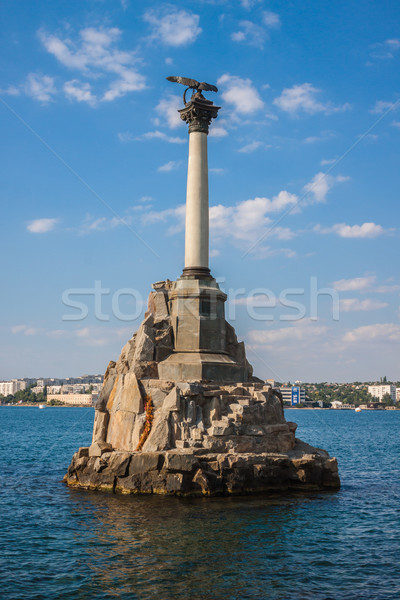 Monument to the scuttled ships in Sevastopol Stock photo © bloodua