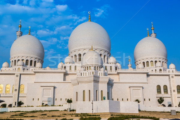 Sheikh Zayed Grand Mosque in Abu Dhabi, the capital city of Unit Stock photo © bloodua